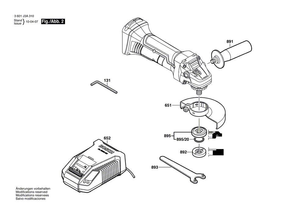 CAG180B-bosch-PB-1Break Down
