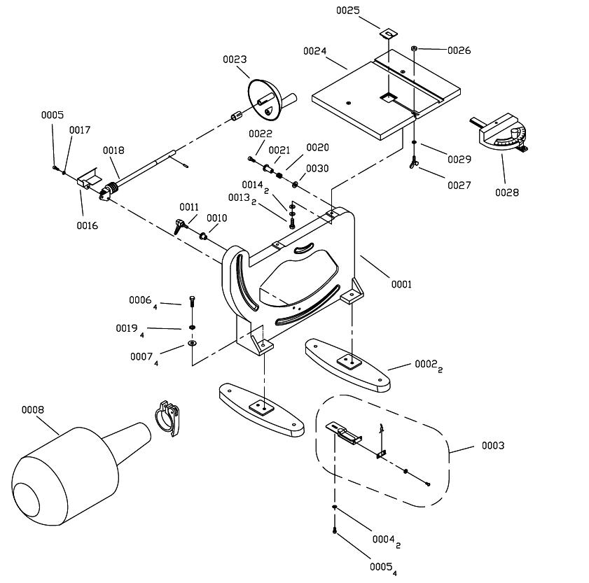 Hitachi-CB6Y-Parts-691-PBBreak Down