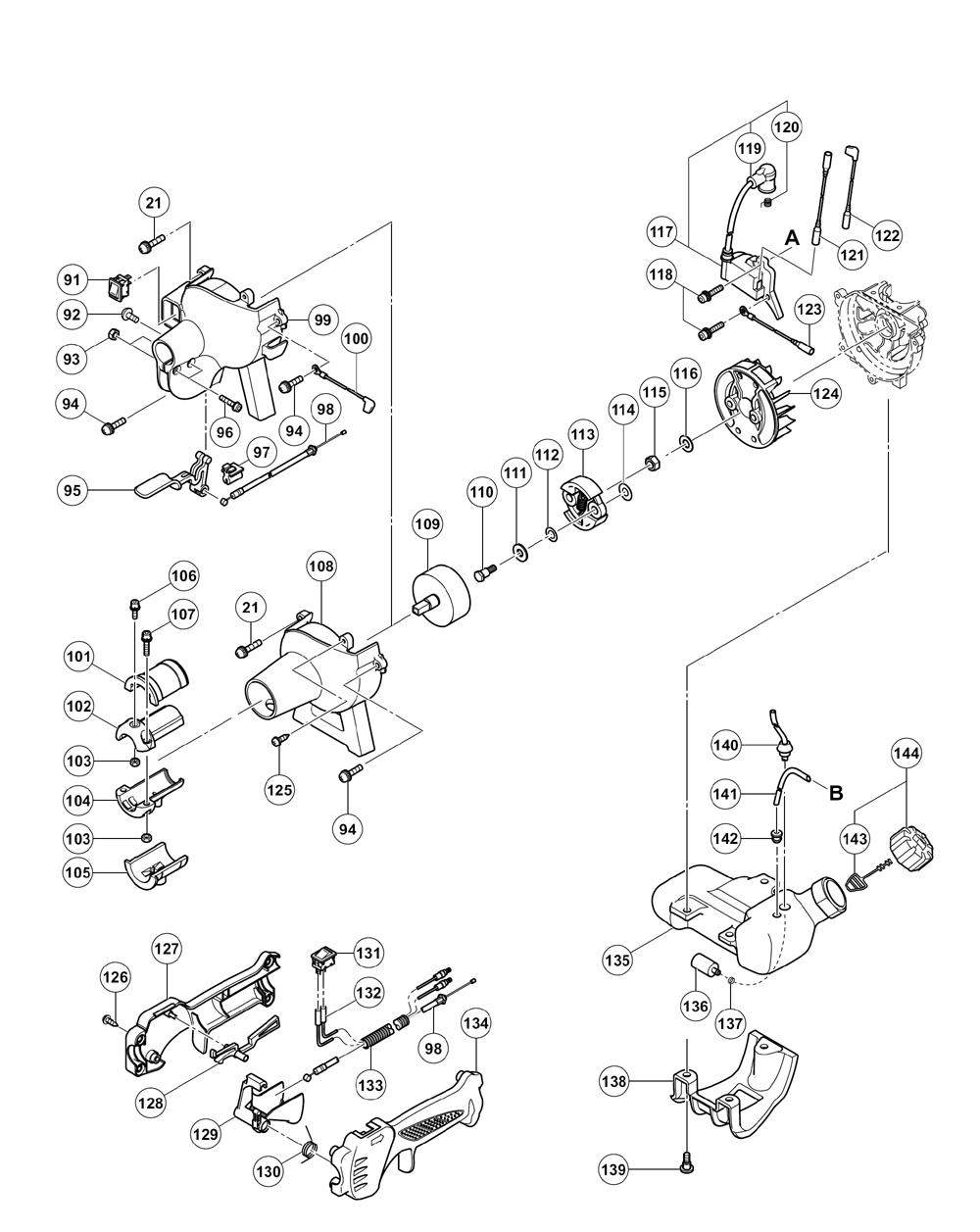 Hitachi-CG22EABSLP-Parts-2339-PBBreak Down