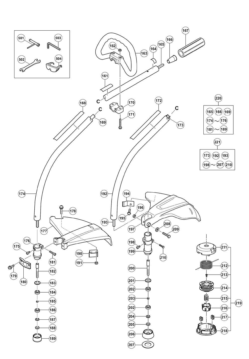 Hitachi-CG22EABSLP-Parts-2341-PBBreak Down