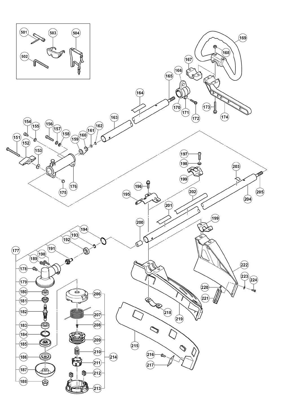Hitachi-CG22EADSLP-Parts-2343-PBBreak Down