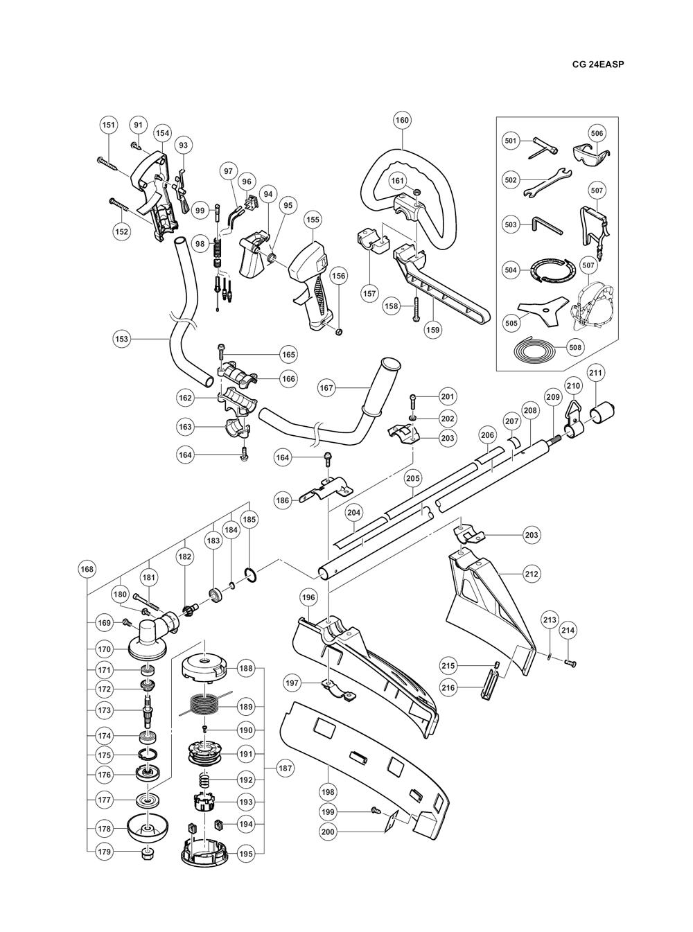 CG24EASP-Hitachi-PB-2Break Down