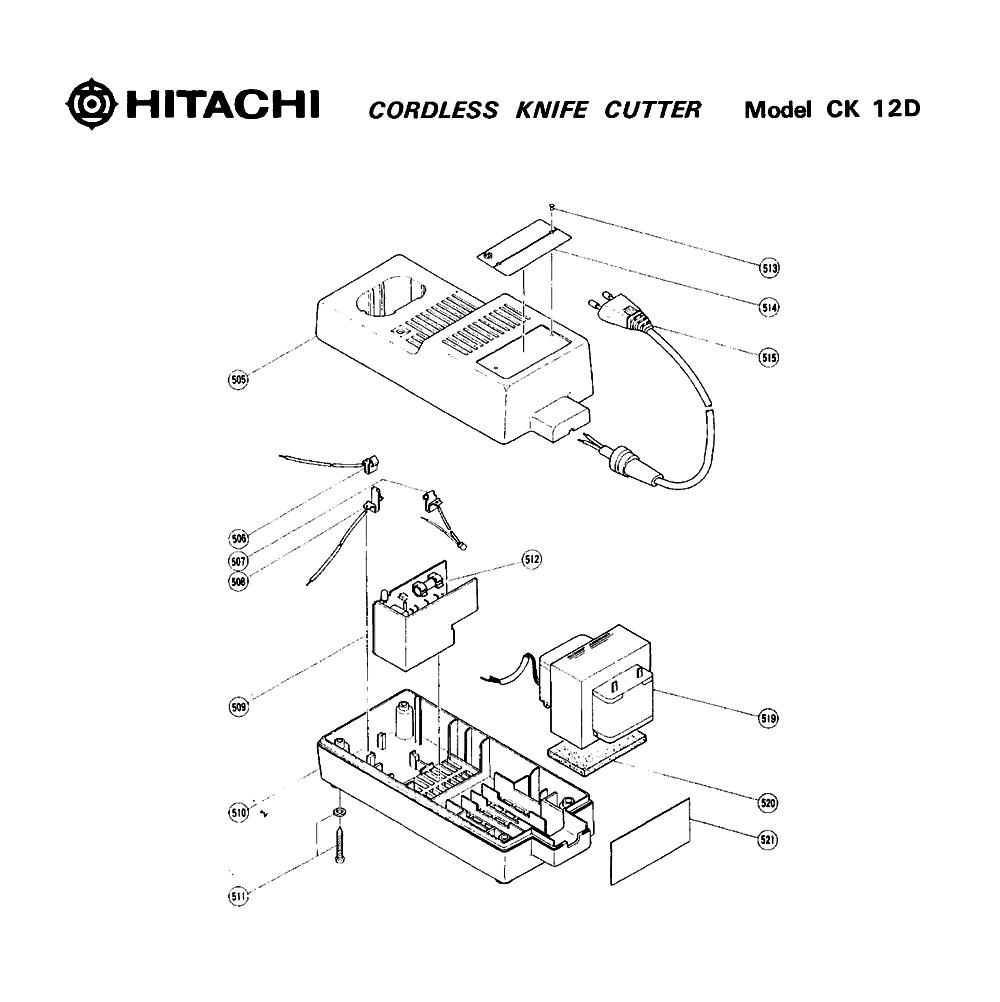 CK12D-Hitachi-PB-1Break Down