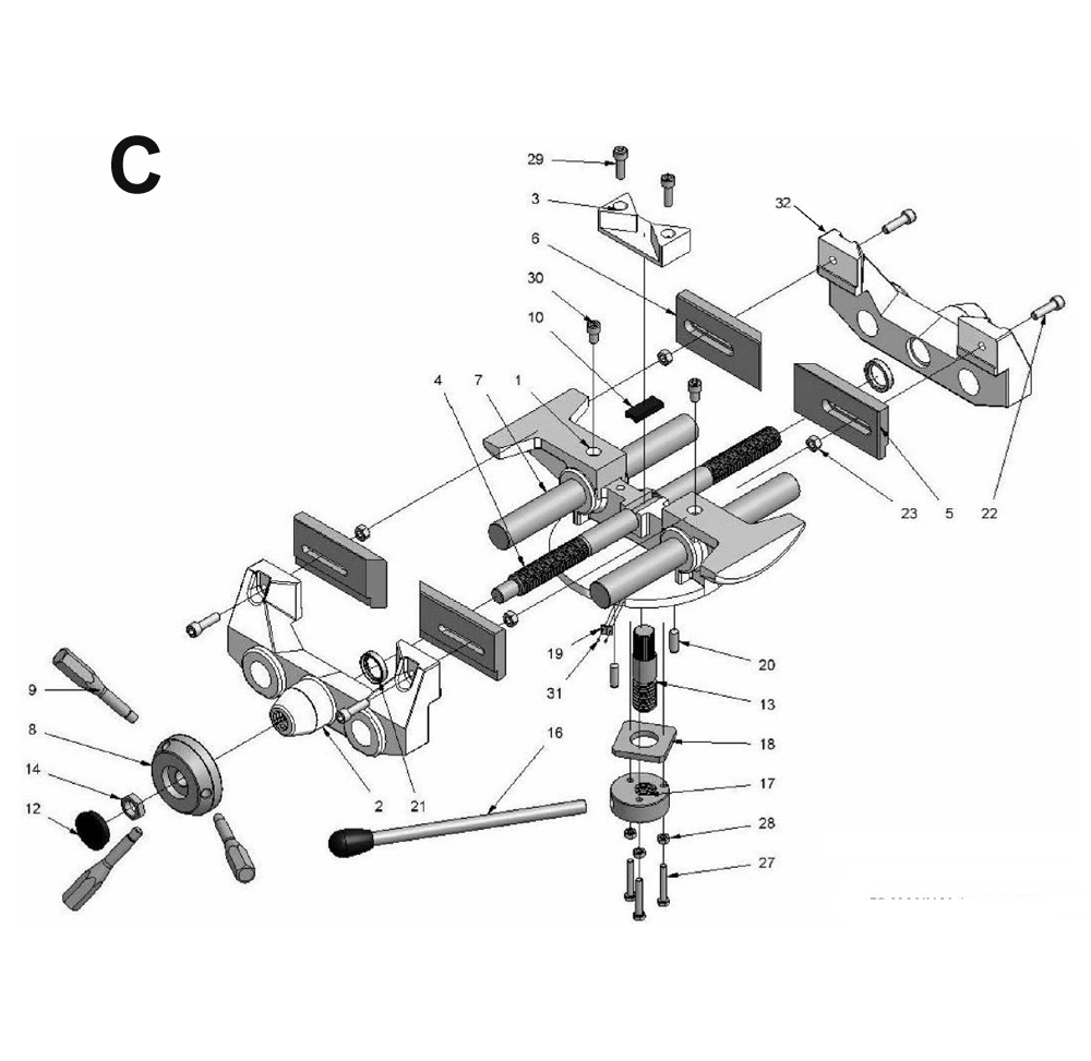 CK350-4-Wilton-PB-3Break Down