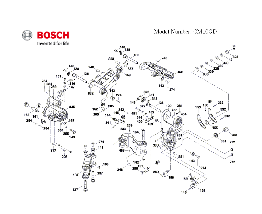 CM10GD-(3601M27010)-Bosch-PB-2Break Down