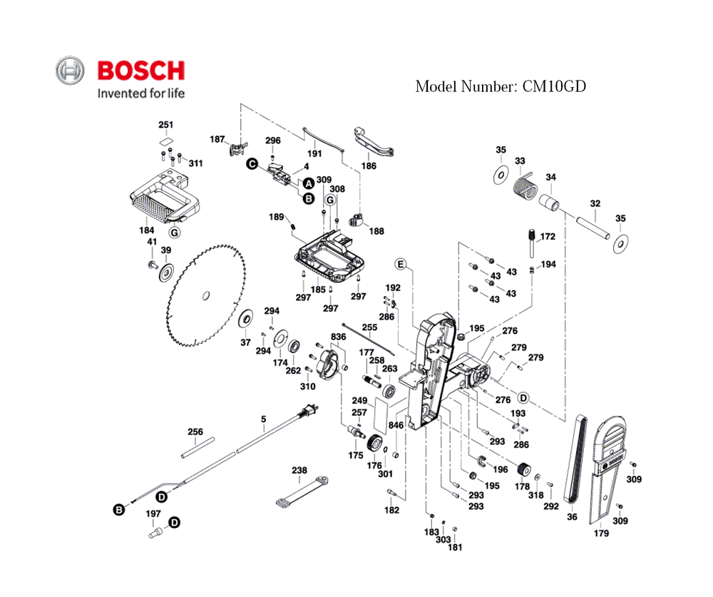 CM10GD-(3601M27010)-Bosch-PB-3Break Down