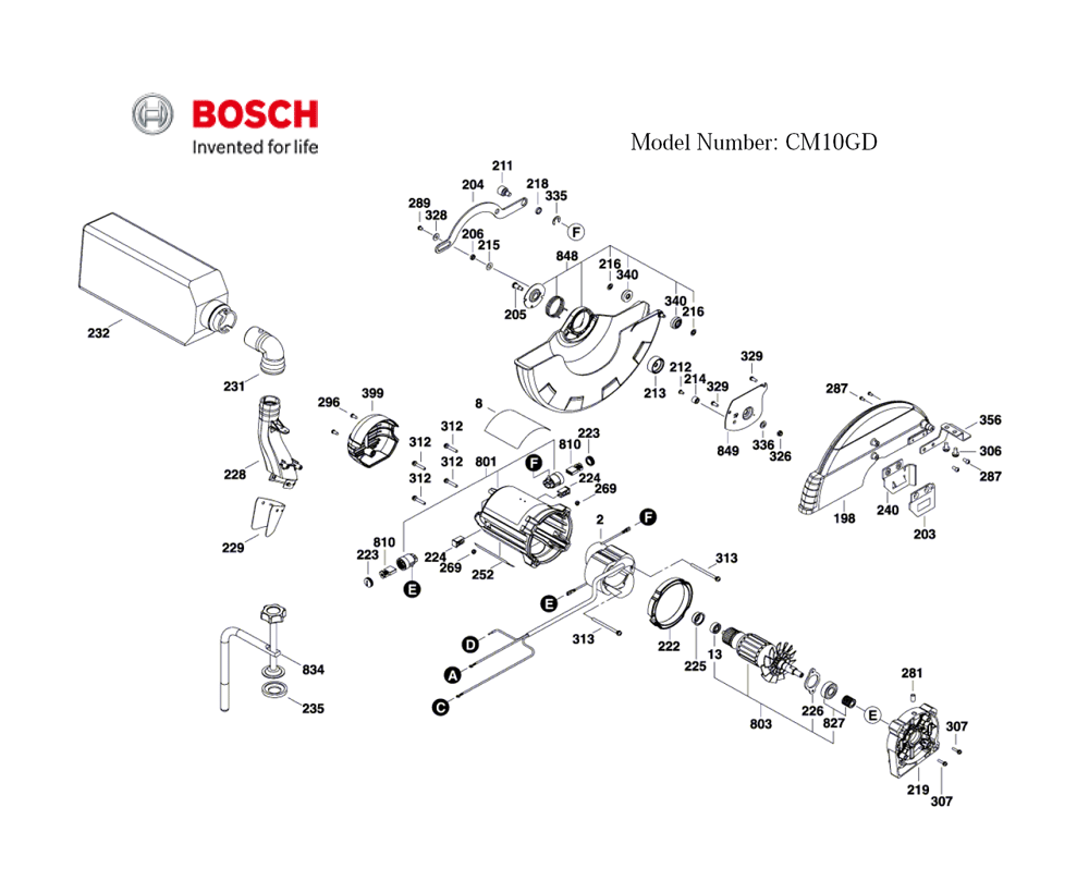 CM10GD-(3601M27010)-Bosch-PB-4Break Down