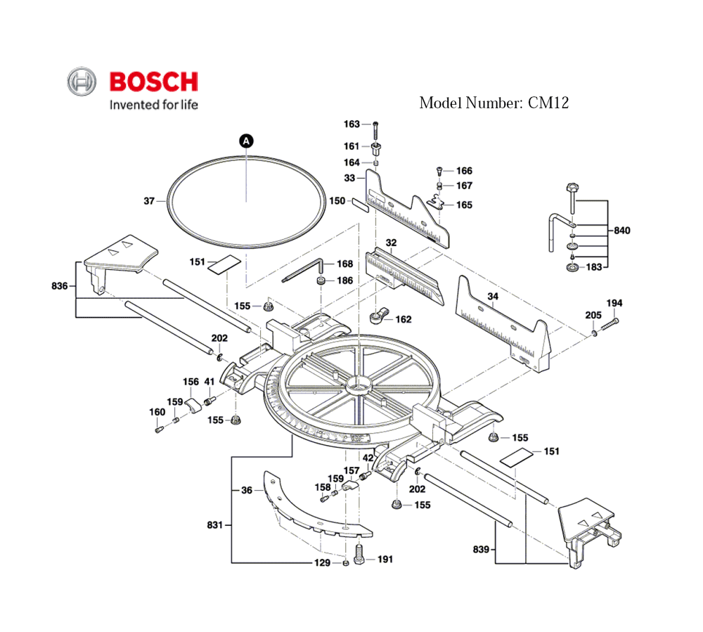 CM12 %283601M21110%29 Bosch PB wiring diagram for 12 pin flat trailer plug wiring schematic,4 Pin Trailer Light Wiring