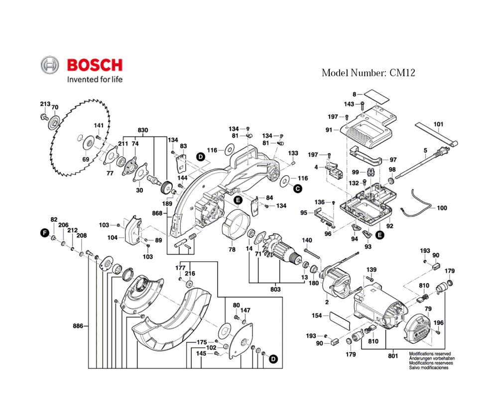 CM12-(3601M21110)-Bosch-PB-2Break Down