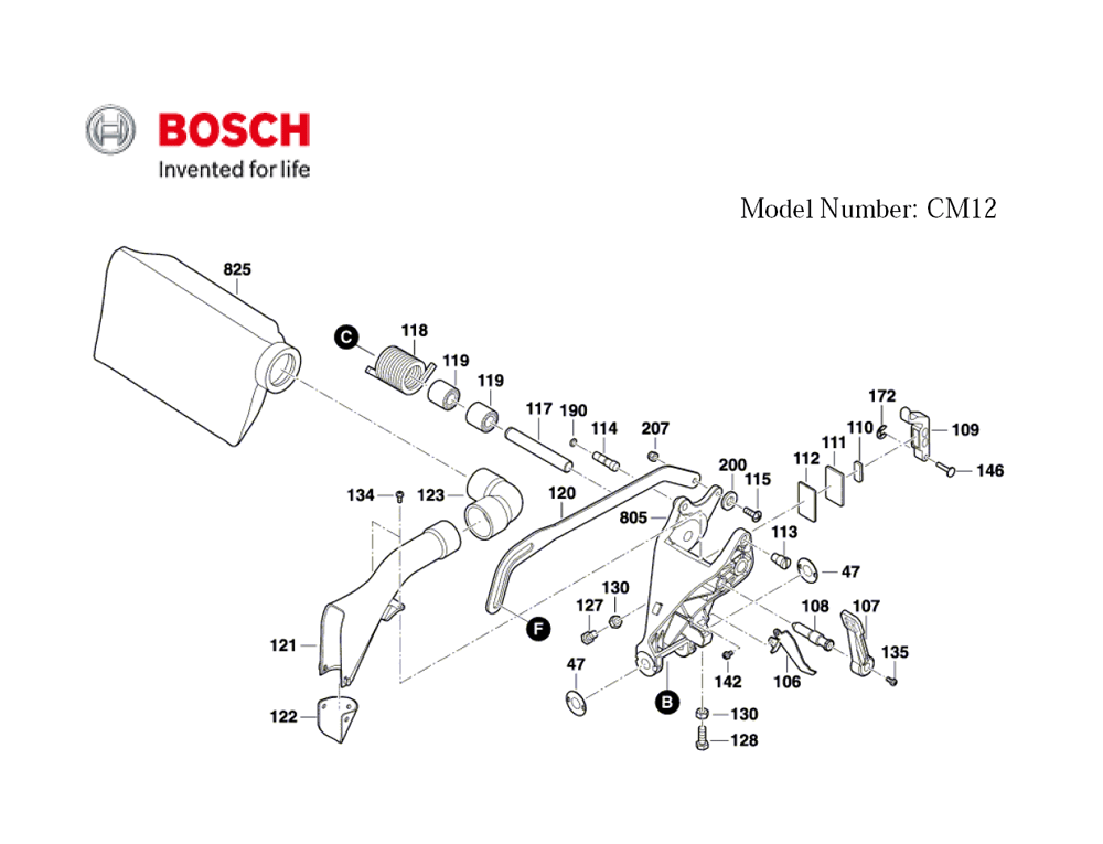 CM12-(3601M21110)-Bosch-PB-3Break Down