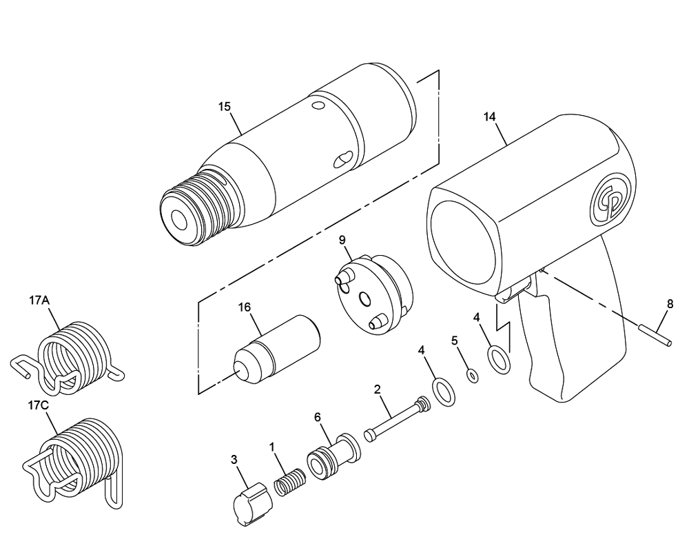 harbor freight central pneumatic parts