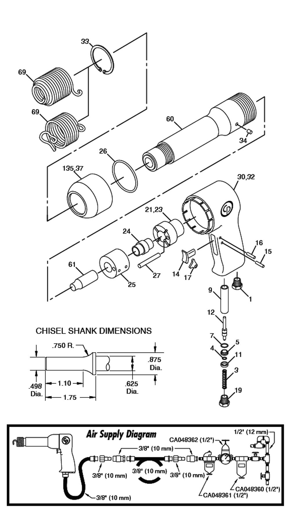 air filter schematics  | 420 x 1000