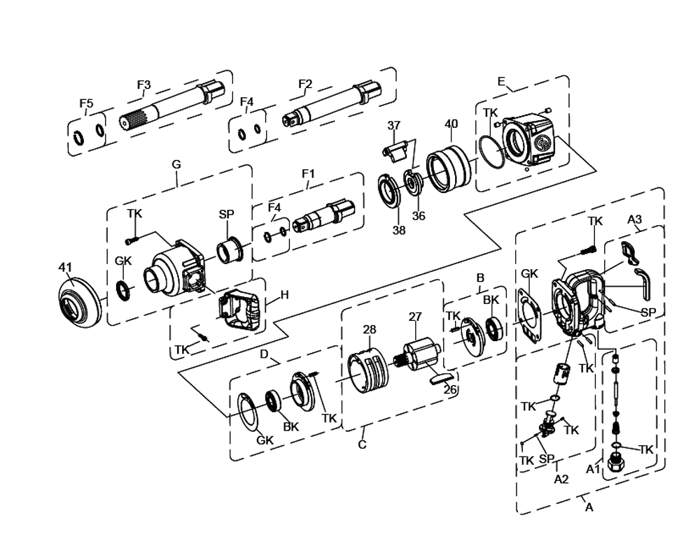 Pneumatic Counter Schematic Part : Buy chicago pneumatic cp inch straight with