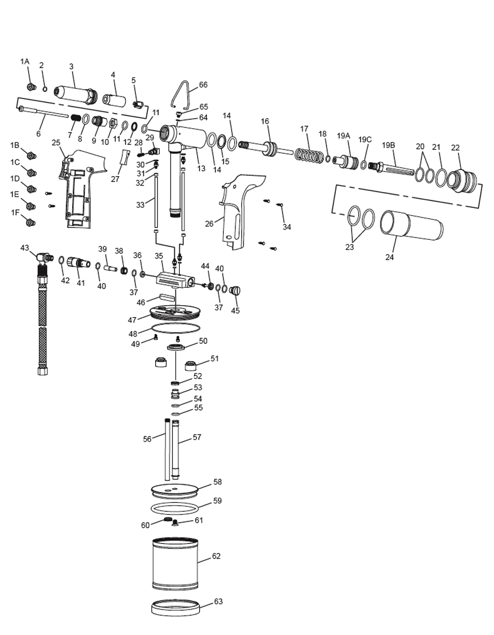Pneumatic Counter Schematic Part : Buy chicago pneumatic cp heavy duty air riveters