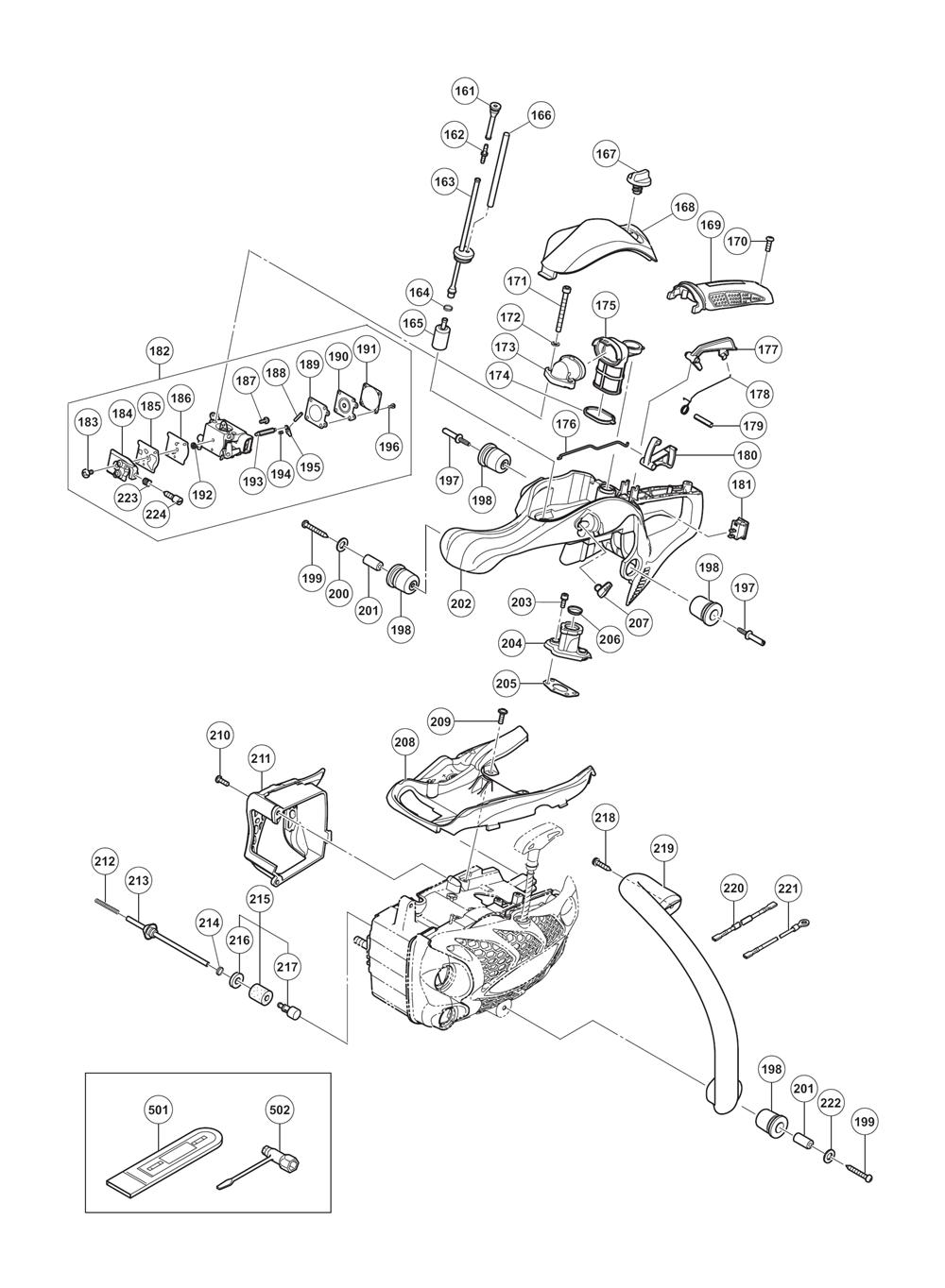 buy hitachi cs33et 32 2cc 14 u0026quot  top engine chain saw