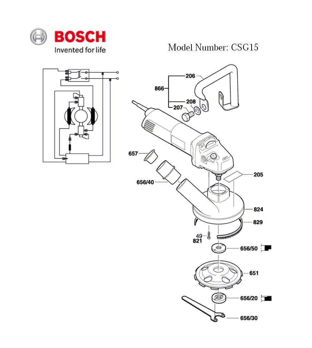 CSG15-(0601773739)-Bosch-PB-1Break Down