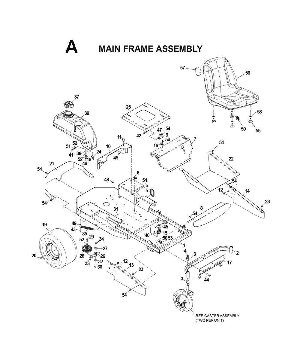 Husqvarna Zero Turn Parts Diagram Wiring Diagrams Further John Deere Drive Belt Furthermore Buy Cz4815 I0203025 Replacement Tool 757 46 Inch