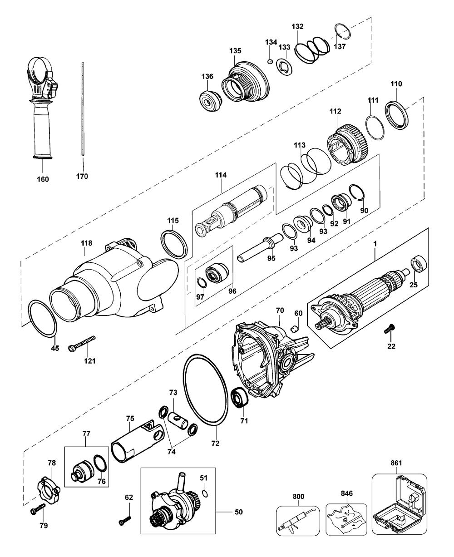 D25101KB2-Dewalt-T1-PB-1Break Down