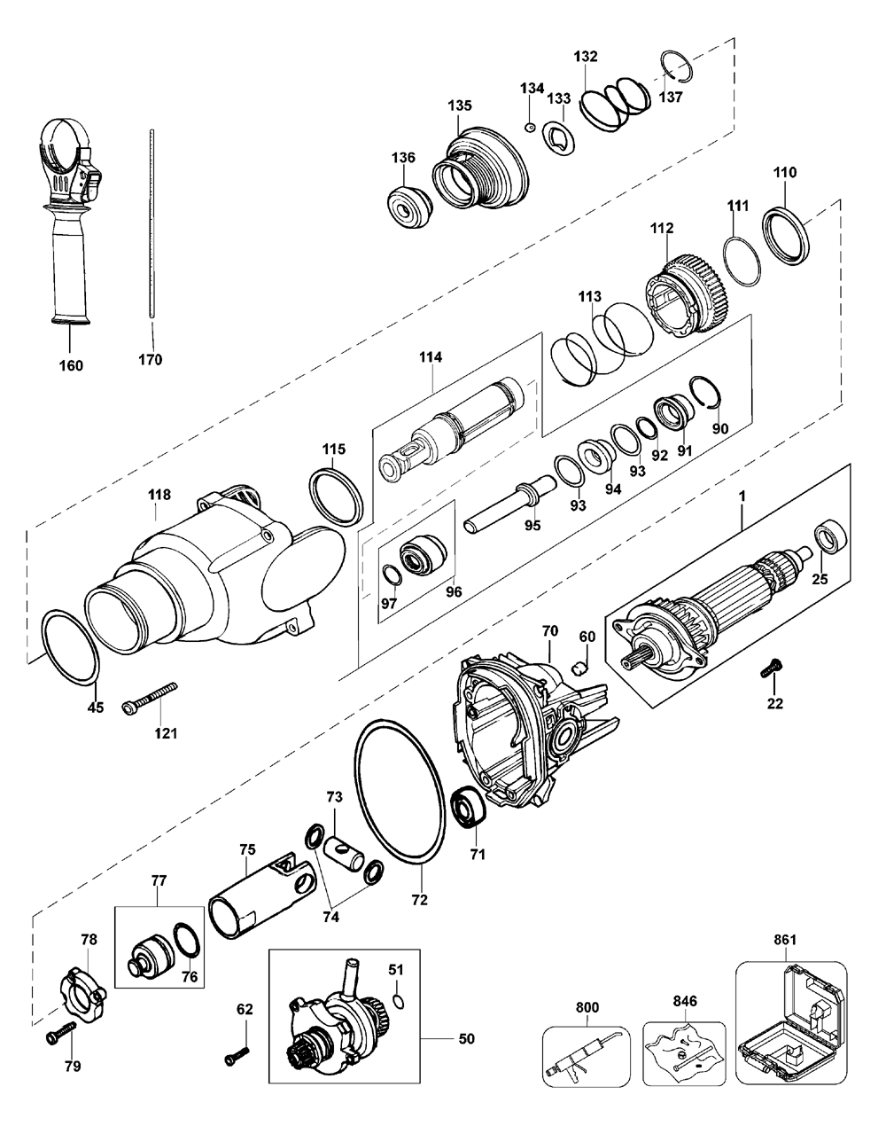 D25201K-Dewalt-T1-PB-1Break Down