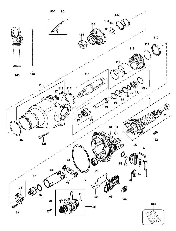 D25203KAR-Dewalt-T2-PB-1Break Down