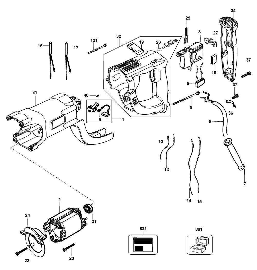 D25203KB2-Dewalt-T2-PB-1Break Down