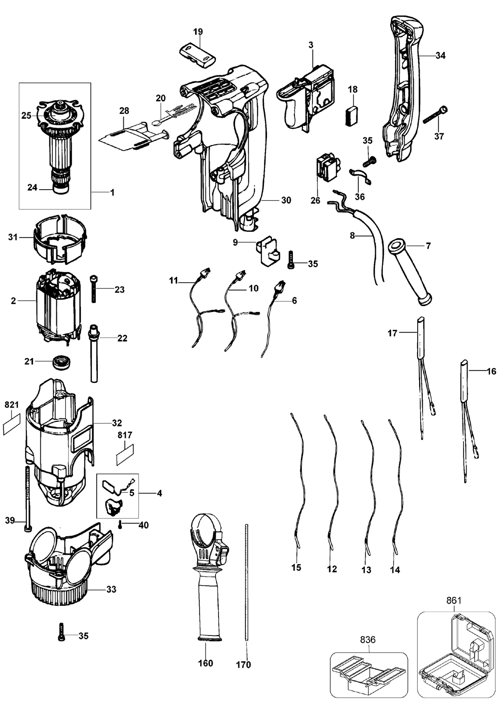 dewalt hammer drill wiring diagram de walt cordless hammer drills  u2022 138dhw co