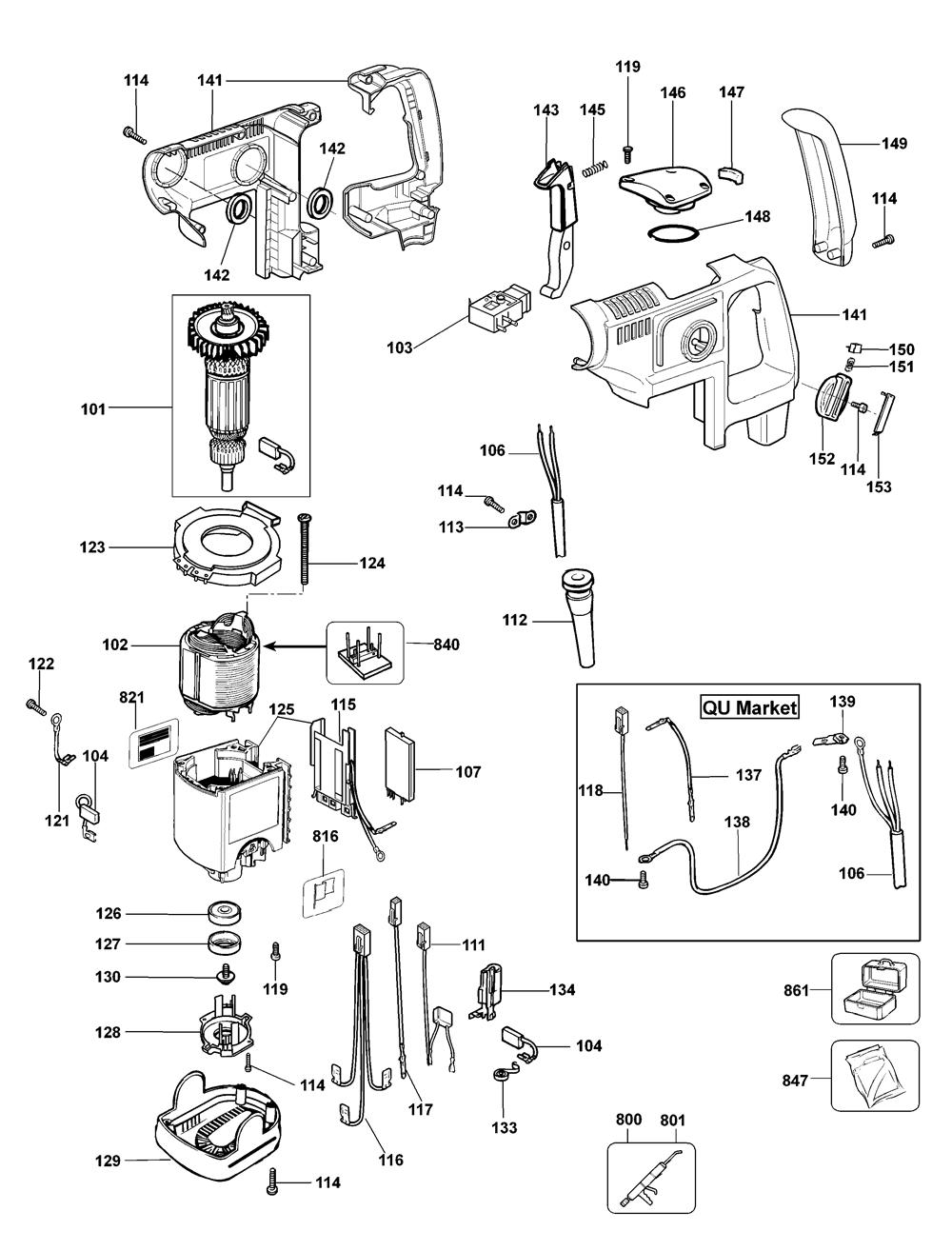 D25405KB3-Dewalt-T1-PB-1Break Down