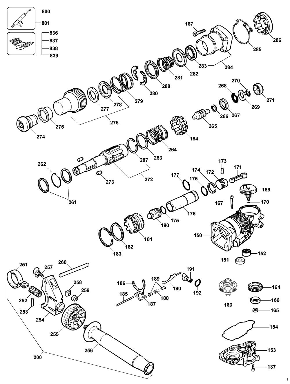 D25500KAR-Dewalt-T3-PB-1Break Down