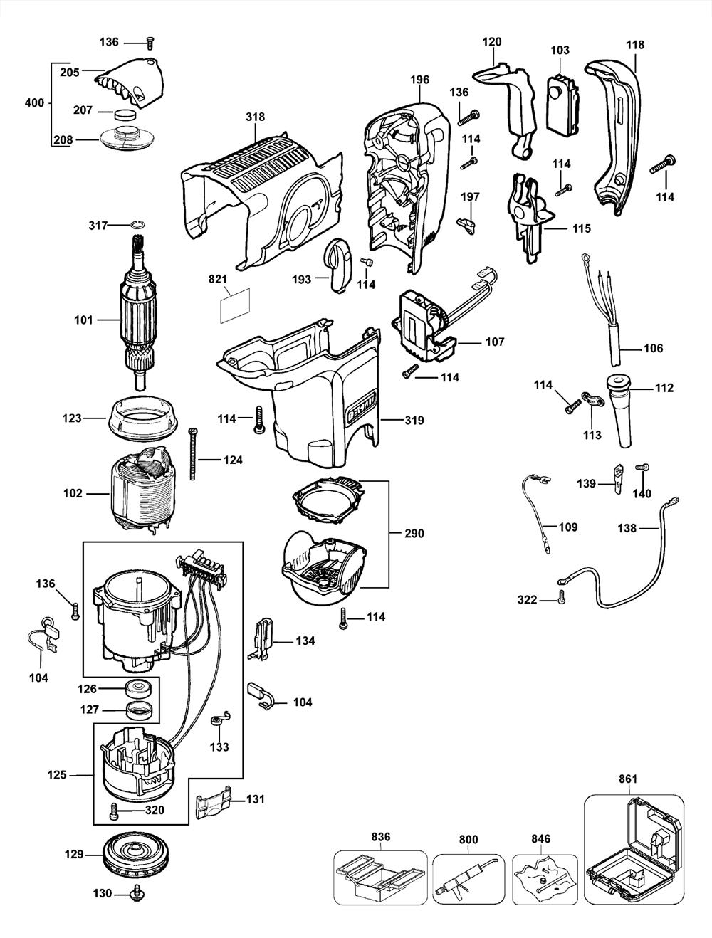 D25600K-T3-Dewalt-PB-1Break Down