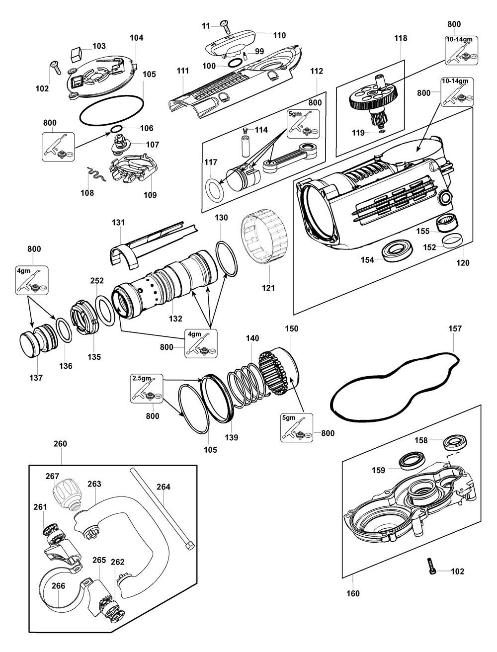 D25840K-AR-Dewalt-T1-PB-1Break Down