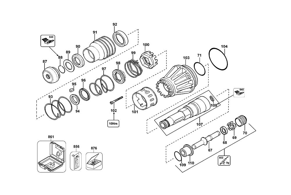 D25901K-AR-BlackandDecker-T1-PB-1Break Down
