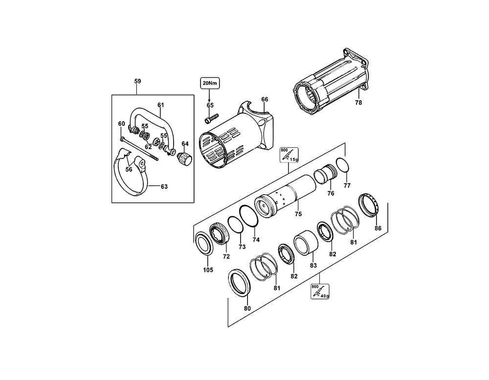 D25901K-AR-BlackandDecker-T1-PB-2Break Down