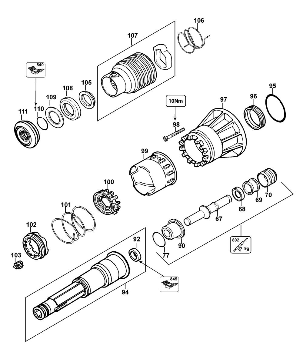 D25941K-AR-Dewalt-T1-PB-1Break Down