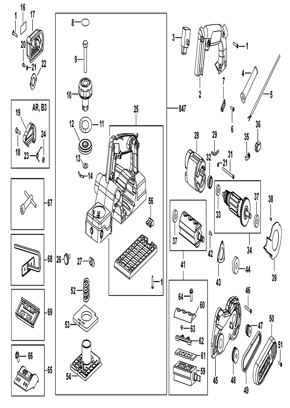 D26676 Planer Parts Jet Wiring Diagram