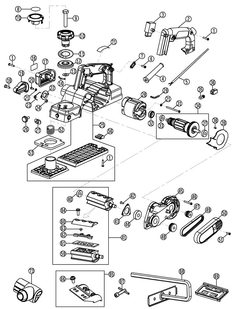 De Walt Tool Parts Diagrams : buy dewalt d26676 3 1 4 inch portable hand replacement ~ A.2002-acura-tl-radio.info Haus und Dekorationen