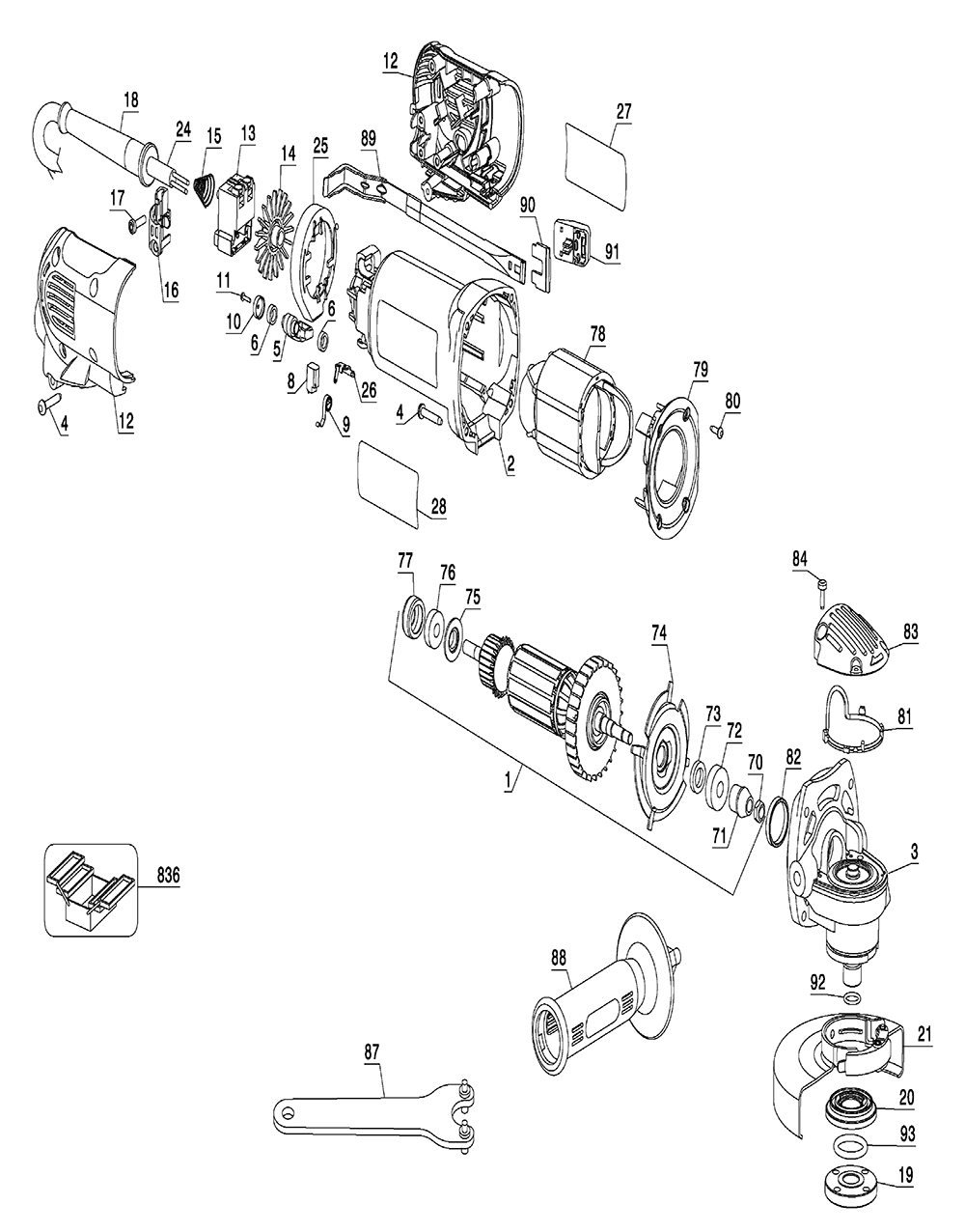 92 jeep cherokee wire harness diagram with Dewalt Radio Wiring Diagram on Index in addition 1hyoq 1991 Ford Ranger 3 0 A Diagram Vacuum Lines Go as well 122965 Where Ocr Relay also 149322543870071581 together with 1997 Dodge Dakota O2 Sensor Wiring Diagram.