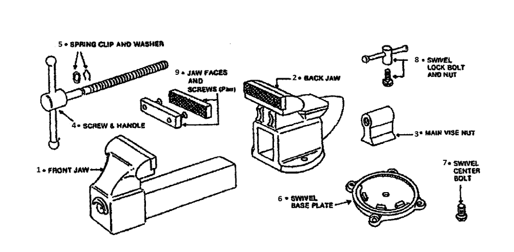 craftsman drill press parts diagram band saw parts diagram