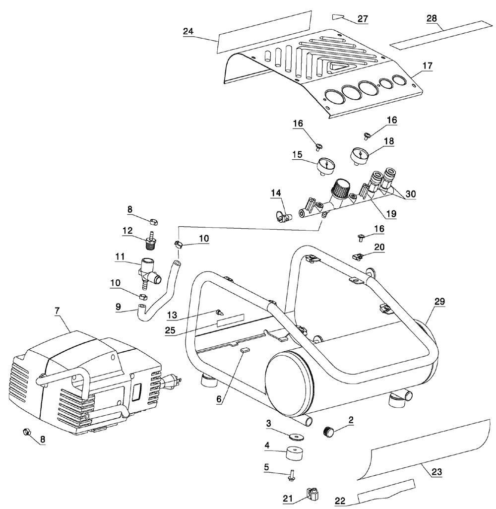 dewalt d55141 parts list and diagram type 1