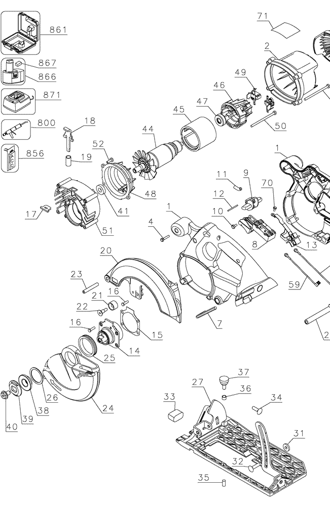 buy dewalt dc390b 18v xrp cordless circular  bare tool
