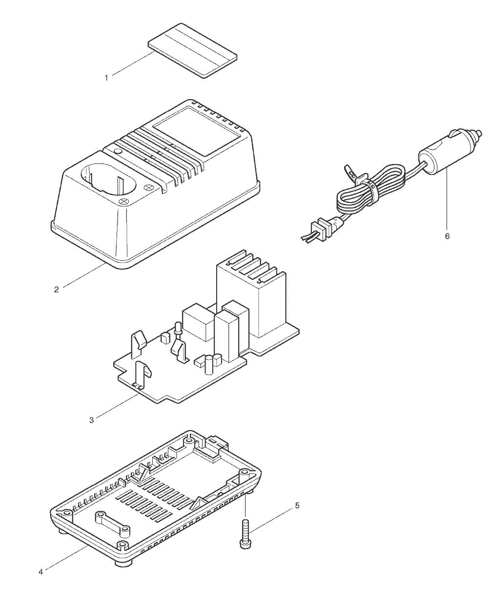 makita battery charger wiring diagram buy makita dc7112 replacement tool parts | makita dc7112 ...