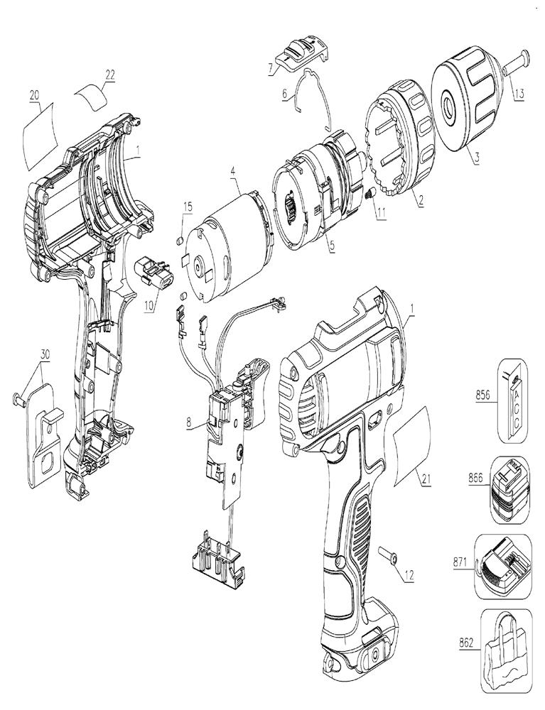 buy dewalt dcd710s2 10 8 volt 10mm compact driver