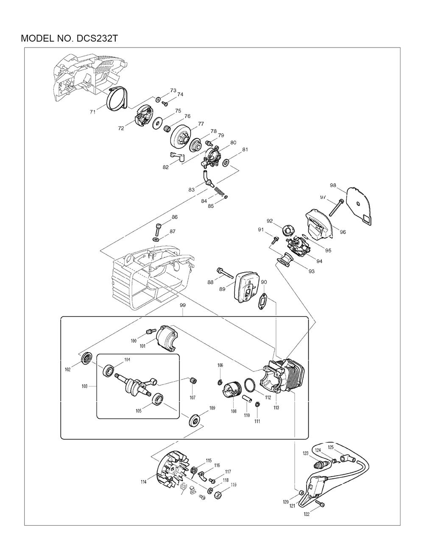 DCS232T-Makita-PB-1Break Down