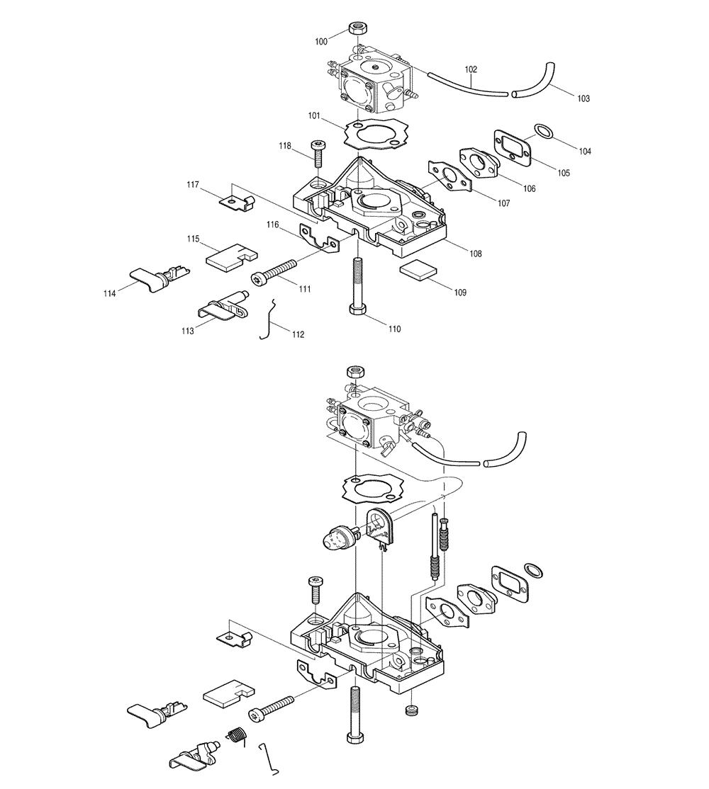 Makita-DCS341-200-PBBreak Down