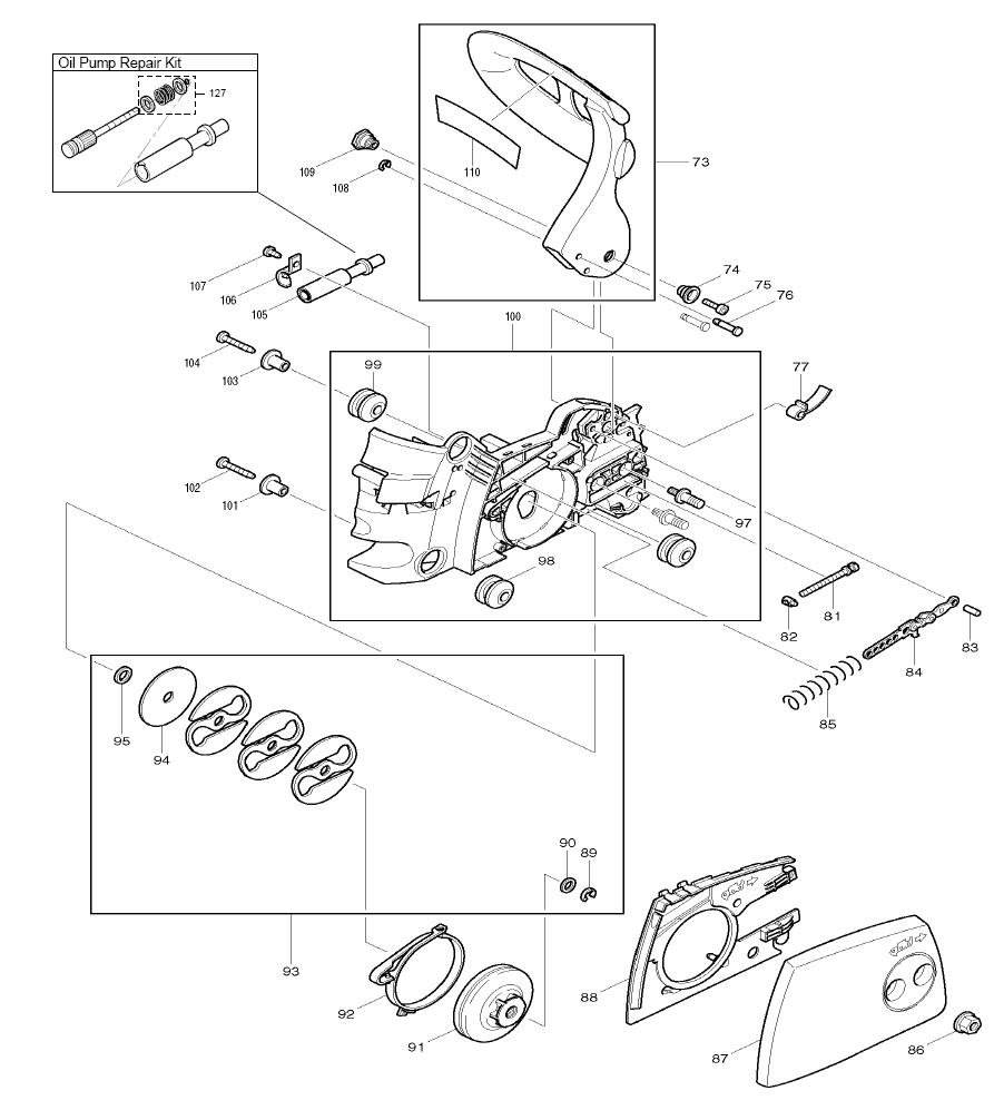 DCS3416-makita-PB-3Break Down
