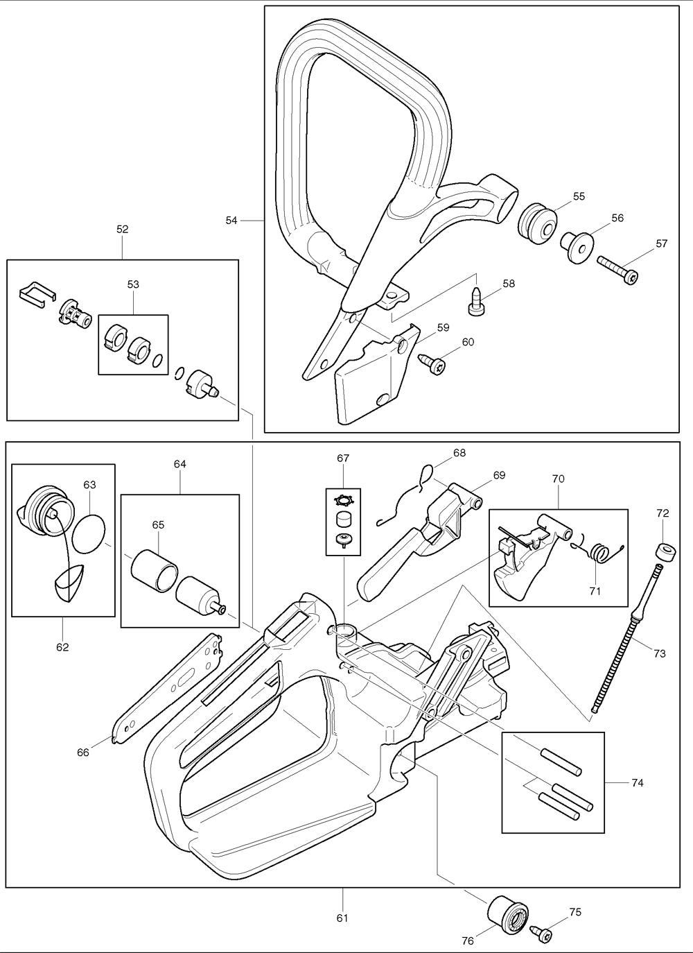 Makita-DCS431-609-PBBreak Down