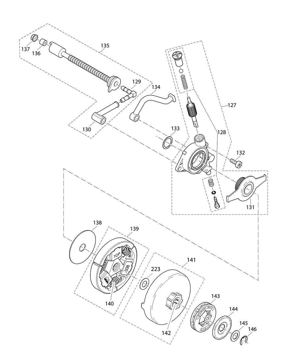 DCS642120-T1-Makita-PB-5Break Down
