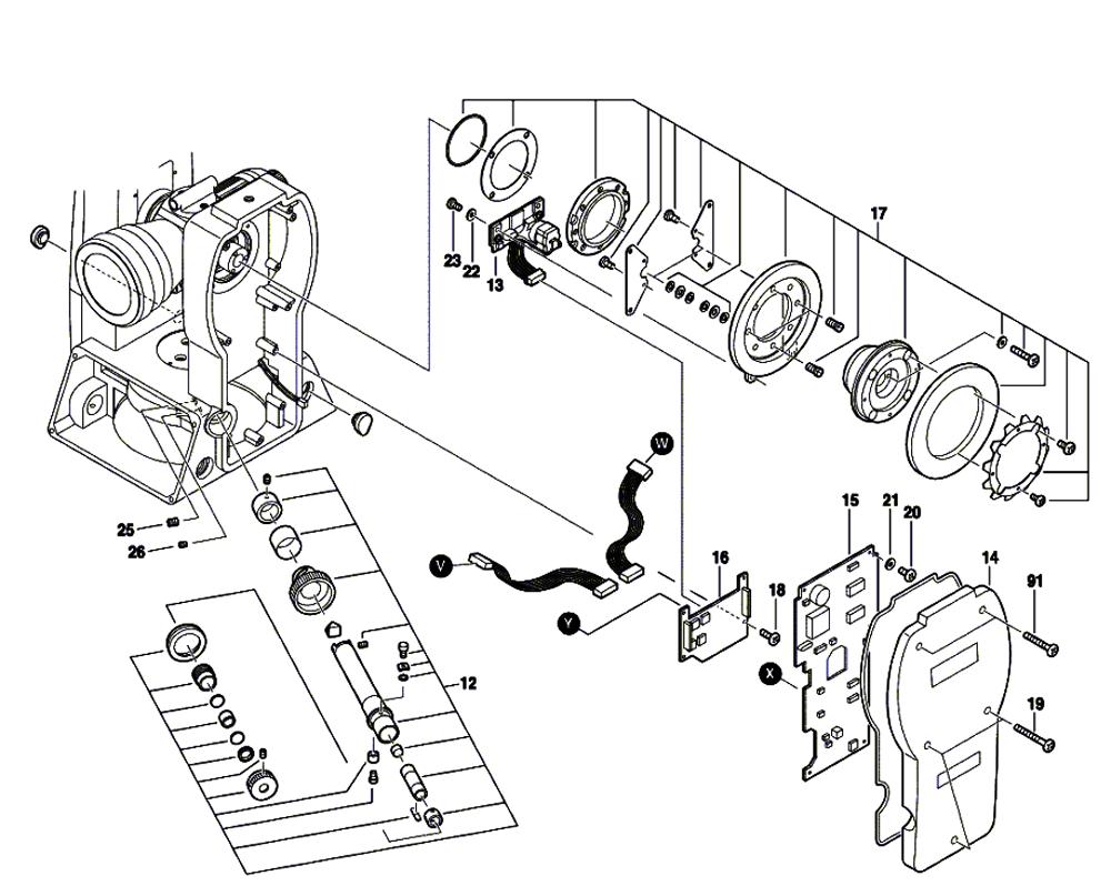 DGT2(F034K543N1)-cst-berger-PB-1Break Down