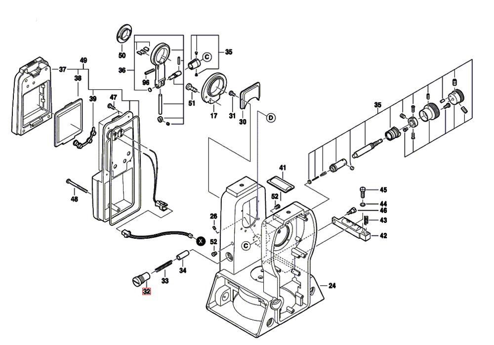 DGT2(F034K543N1)-cst-berger-PB-2Break Down