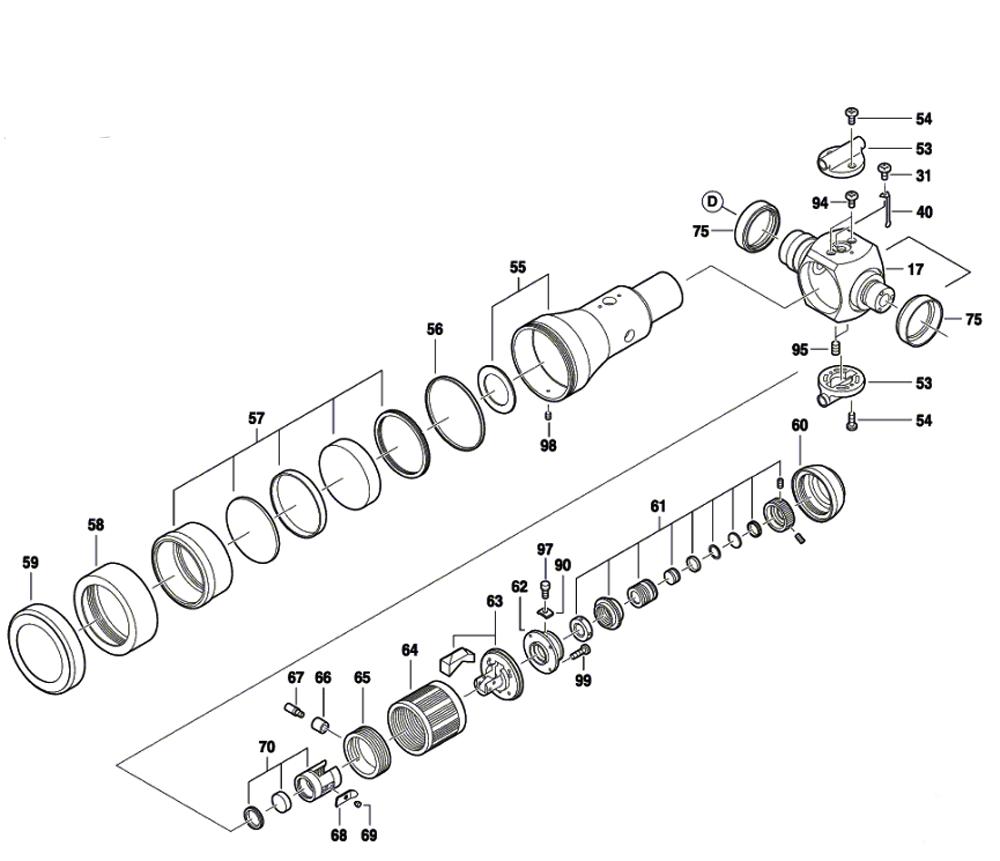 DGT2(F034K543N1)-cst-berger-PB-3Break Down
