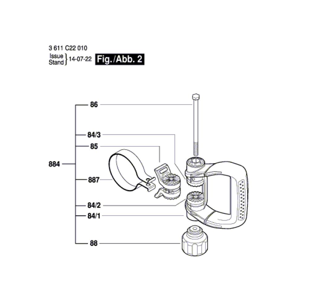 DH712VC-(3611C22010)-Bosch-PB-1Break Down